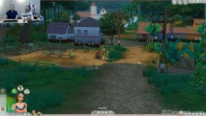 путь к музею в The Sims 4 Приключения в джунглях