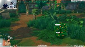 куст из симс 4 приключения в джунглях