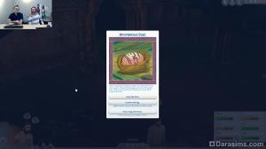 всплывающее окно в The Sims 4 Приключения в джунглях