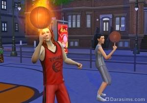 Крутить мяч на пальце в баскетболе