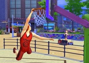Слэм-данк в Sims 4