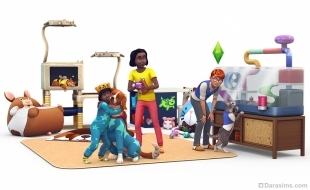 Рендер к каталогу «The Sims 4 Мой первый питомец»