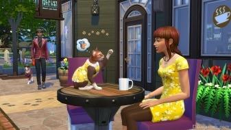 Питомцы одеты как хозяева в «The Sims 4 Мой первый питомец»