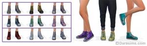 Кроссовки для симов в Sims 4
