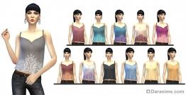 Женский топ в The Sims 4