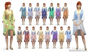 Женское платье в CAS