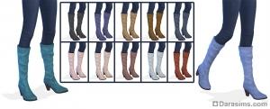 Женская обувь в каталоге (сапоги)