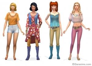 Женские стилизованные образы