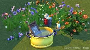Стирка с ароматом цветов