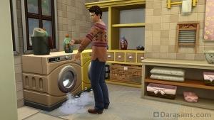 Пена из стиральной машины