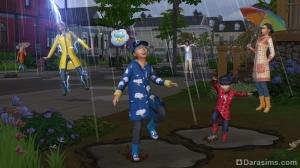 весна в The Sims 4 Времена года