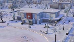 """зима в """"больничном"""" городке"""