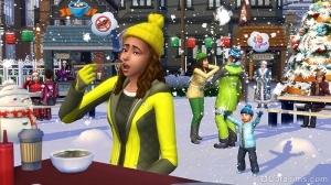 зима в The Sims 4 Времена года