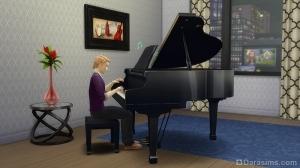 Пение и игра на рояли