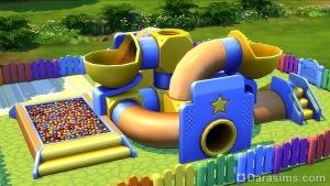 награда в sims 4 за детский праздник