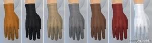 перчатки в Симс 4 На работу