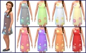 детское платье в Симс 4 На работу