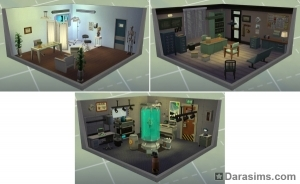 стилизованные комнаты - карьерные награды