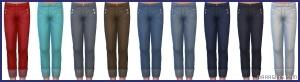 детские брюки в Симс 4 На работу
