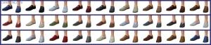 мужская обувь в Симс 4 На работу
