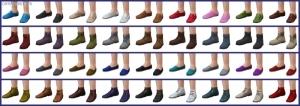 детская обувь в Симс 4 На работу