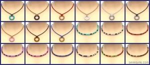 детские ожерелья в Симс 4 На работу
