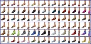 женская обувь в Симс 4 На работу