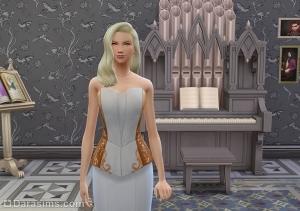 орган в игровом наборе Симс 4 Вампиры