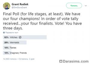 финал голосования