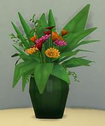 прозрачная ваза
