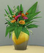 ваза из белого золота