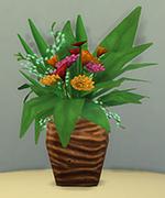 ваза в виде птичьего гнезда