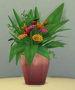 розовая ваза