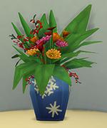 ваза для Зимнего праздника