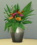 стальная ваза