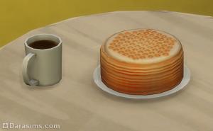 Медовик и пчелиный чай в Симс 4 Времена года