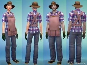 униформа в карьере садовода 2 уровень