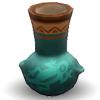Декоративная омисканская ваза