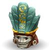 Бирюзовая маска Кха