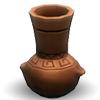 Терракотовая омисканская ваза