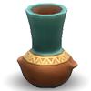 Керамическая омисканская ваза