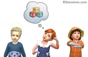 Малыши с разными чертами характера