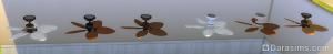 потолочный вентилятор «Головокружительные пальмы»