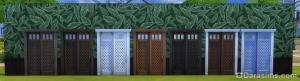 расцветки раздвижной двери из островного красного дерева