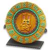 Тарелка-календарь Цельтикли с драгоценными камнями