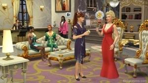 Вечеринка в The Sims 4 Get Famous