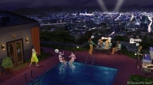 Вечеринка на крыше в Симс 4 Путь к славе