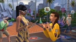 Раздача автографов в The Sims 4 Get Famous