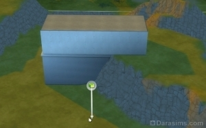 Фундамент добавился к постройке начатой с высокой точки