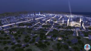 Ночной вид с холмов Пиннаклс